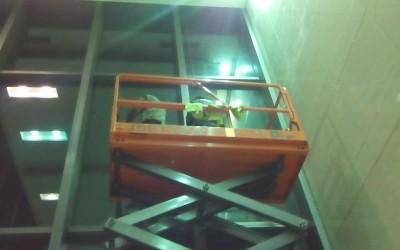 河南电力大厦外墙清洗